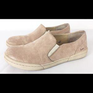 Boc Born Zamora pink rose gold slip on sneakers